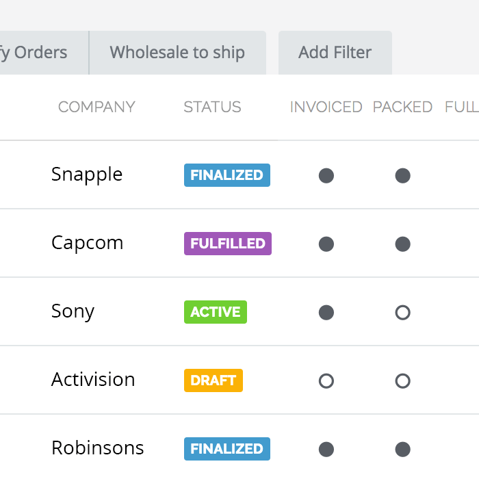 TradeGecko order management
