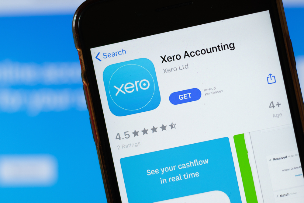 Xero Mobile App illustration