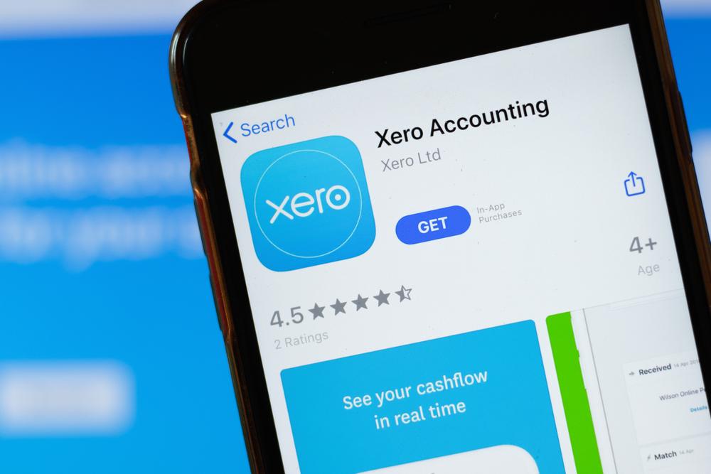 Xero Mobile App illustration