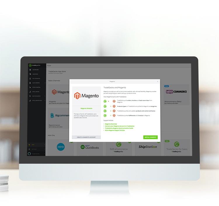 Magento Inventory Management - Tradegecko