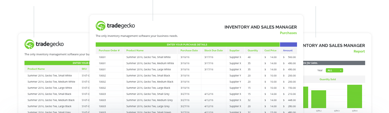 inventory template | Tradegecko