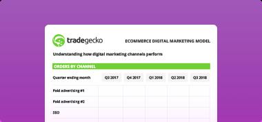 TradeGecko Free Marketing Model