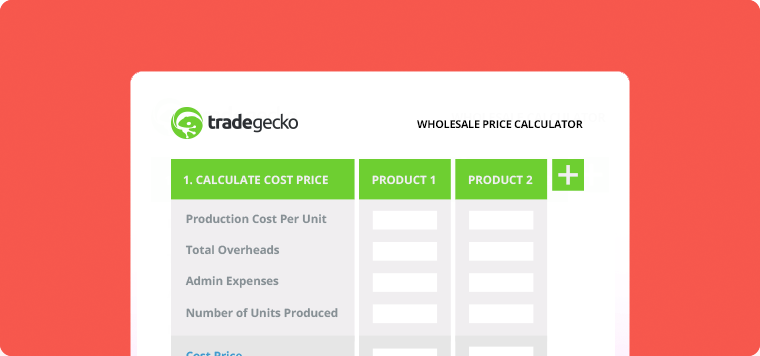 TradeGecko Wholesale Price Calculator