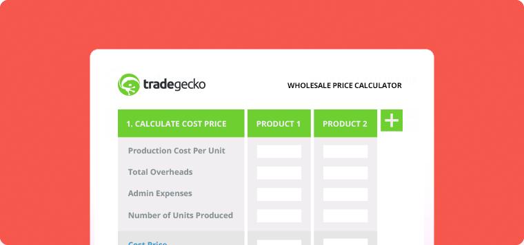 TradeGecko Wholesale Price Calculator