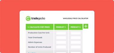 How to calculate your wholesale price